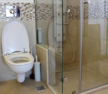 עיצוב דירת יוקרה, מבט נוסף על מקלחת כללית, עיצוב פנים ופנג שואי, ענבל קרקו