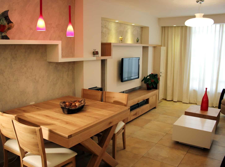 עיצוב דירות קטנות , דירה קטנה בגבעתיים, ענבל קרקו עיצוב פנים ופנג שואי