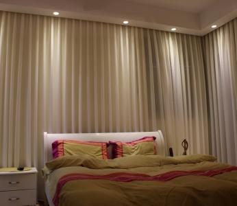 עיצוב דירה מקבלן במצליח, חדר שינה, ענבל קרקו, עיצוב פנים ופנג שואי