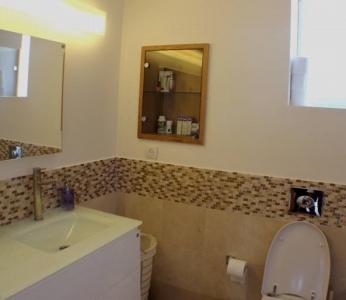 עיצוב דירת יוקרה, מקלחת כללית, עיצוב פנים ופנג שואי, ענבל קרקו