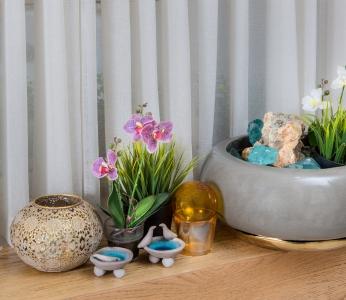 עיצוב דירה לפי הפנג שואי, מזרקה לחיזוק השפע בבית, ענבל קרקו עיצוב פנים ופנג שואי