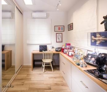 עיצוב בית צבעוני,חדר הזיכרון של הבת,ענבל קרקו עיצוב פנים ופנג שואי
