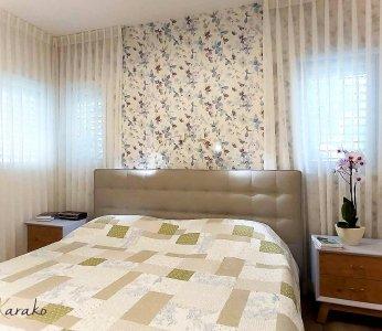 עיצוב פנים צבעוני, חדר שינה הורים, ענבל קרקו עיצוב פנים ופנג שואי