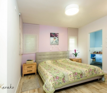 עיצוב פנים צבעוני,חדר שינה הורים,ענבל קרקו עיצוב פנים ופנג שואי