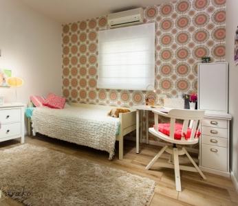 עיצוב בית צבעוני,עיצוב חדר לנערה מבט נוסף,ענבל קרקו עיצוב פנים ופנג שואי