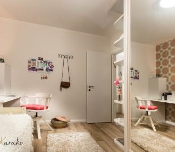 עיצוב פנים צבעוני,עיצוב חדר לנערה,ענבל קרקו עיצוב פנים ופנג שואי