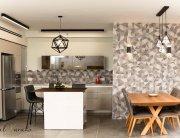 עיצוב בית מודרני לבני 60 +, מטבח הבית, ענבל קרקו, עיצוב פנים ופנג שואי