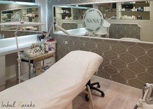 עיצוב מכון קוסמטיקה, מבט נוסף על חדר הטיפולים, ענבל קרקו עיצוב פנים ופנג שואי