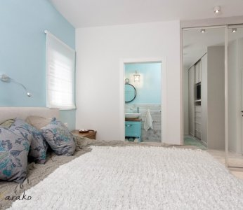 עיצוב בית על פי הפנג שואי, חדר שינה, ענבל קרקו עיצוב פנים ופנג שואי