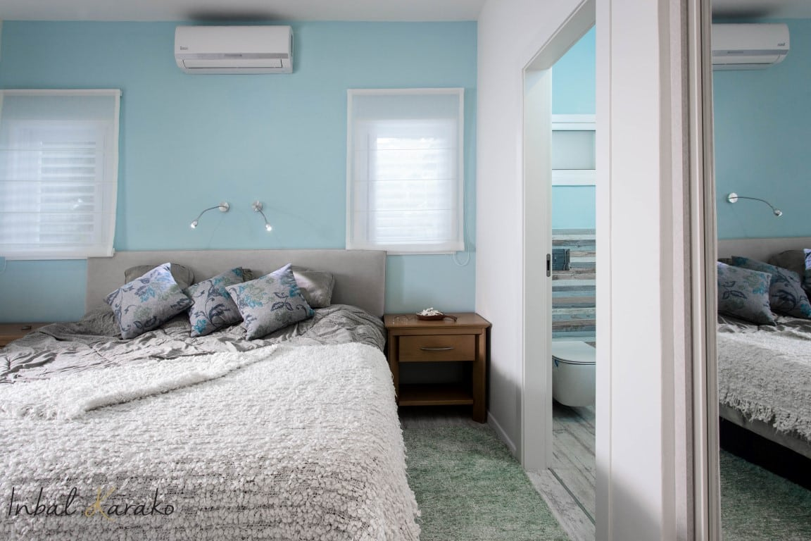 עיצוב בית על פי הפנג שואי, חדר שינה הורים, ענבל קרקו עיצוב פנים ופנג שואי