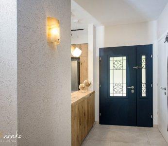 עיצוב בית פרטי ברחובות, מבואת הכניסה, ענבל קרקו עיצוב פנים ופנג שואי