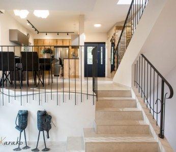 עיצוב בית פרטי ברחובות, מבט מכיוון הסלון, ענבל קרקו עיצוב פנים ופנג שואי