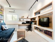 עיצוב בית פרטי ברחובות, חדר המשפחה, ענבל קרקו עיצוב פנים ופנג שואי