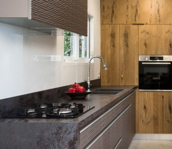 עיצוב בית פרטי ברחובות, תקריב מטבח, ענבל קרקו עיצוב פנים ופנג שואי