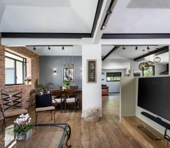 תכנון ועיצוב פנים של בית בצופית,מבט מהסלון, ענבל קרקו עיצוב פנים ופנג שואי