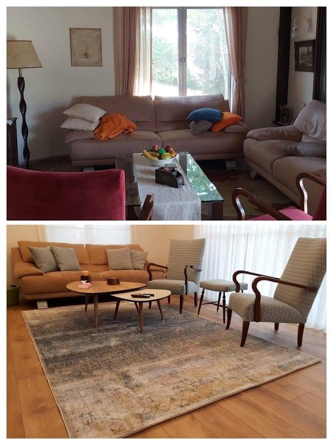 שיפוץ דירה לפני ואחרי, מטבח בצופית, ענבל קרקו עיצוב פנים ופנג שואי