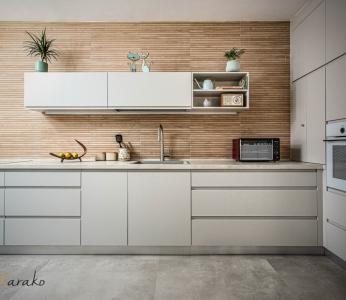 עיצוב דירה מודרני חם ברחובות, מטבח מודרני חם, ענבל קרקו עיצוב פנים ופנג שואי